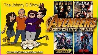 Ep. #474 Marvel Movie Marathon: Lead Up to Infinity War