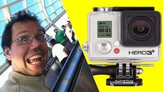 Ep. #5 Slowmo Test: GoPro 3+ Black vs. Trampoline