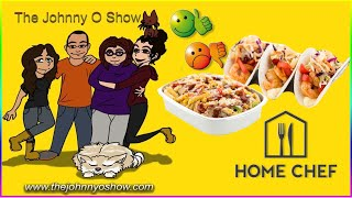 Ep. #751 Home Chef! Shrimp Pepper Wonton Tacos & Creamy Pulled-Pork Penne!
