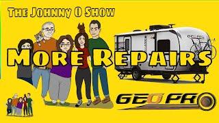 Ep. #798 Geo Pro 19FBS Repairs: Replacing External Trim
